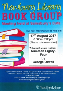 Newbury Library Book Group - Thursday @ Sainsburys Cafe | England | United Kingdom