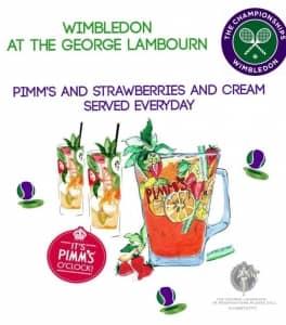 Wimbledon at The George Lambourn @ The George Lambourn
