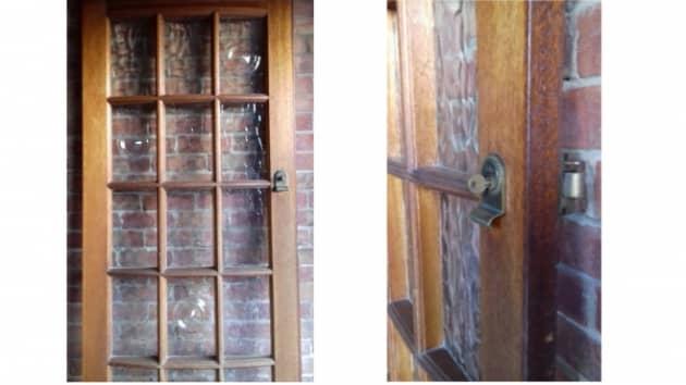 Glass Panelled Door