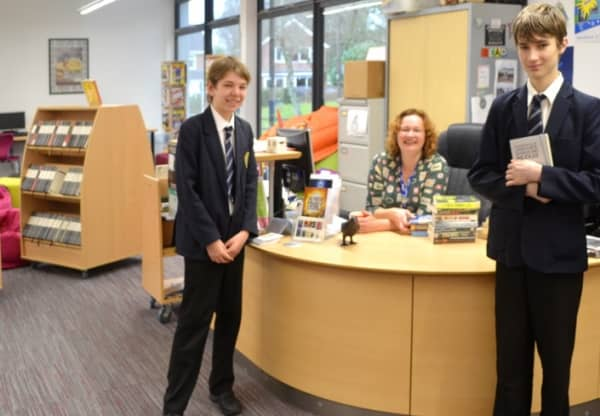 Exciting First Year of John O'Gaunt School's New Library