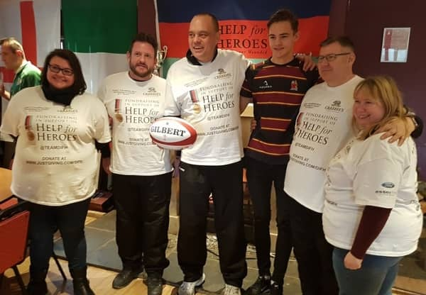 Hungerford RFC helps 'Help for Heroes'