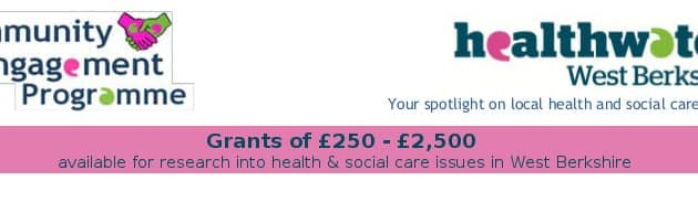 Healthwatch Grants for local research projects