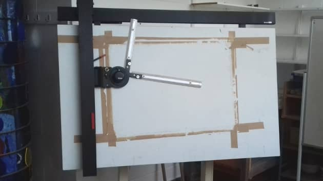 Large Architects Drawing Board