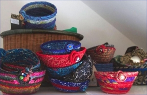 Coiled Fabric Bowls @ The Mix Community Space |  |  |