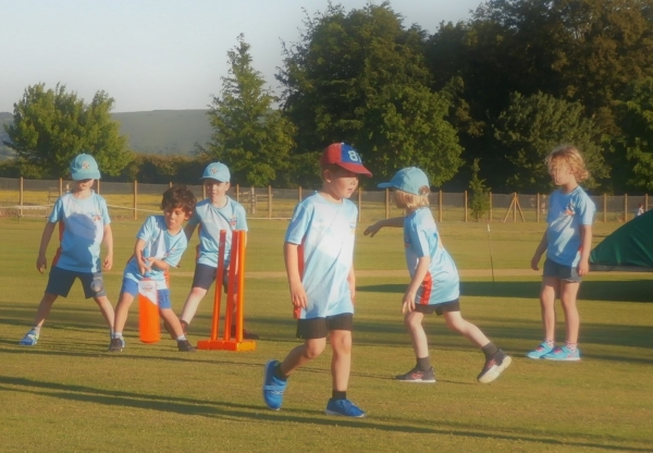 All Stars Junior Cricket comes to Hungerford Cricket Club