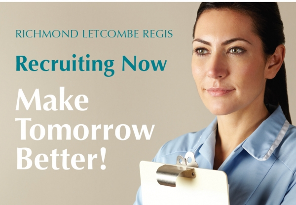 Nursing & Domiciliary Care Vacancies at Richmond Letcombe Regis