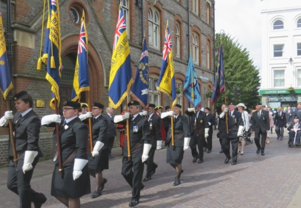 Newbury Armed Forces Parade