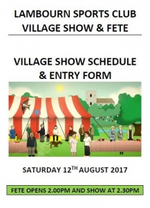 Village Show and Fete @ Lambourn Sports Club | Lambourn | England | United Kingdom